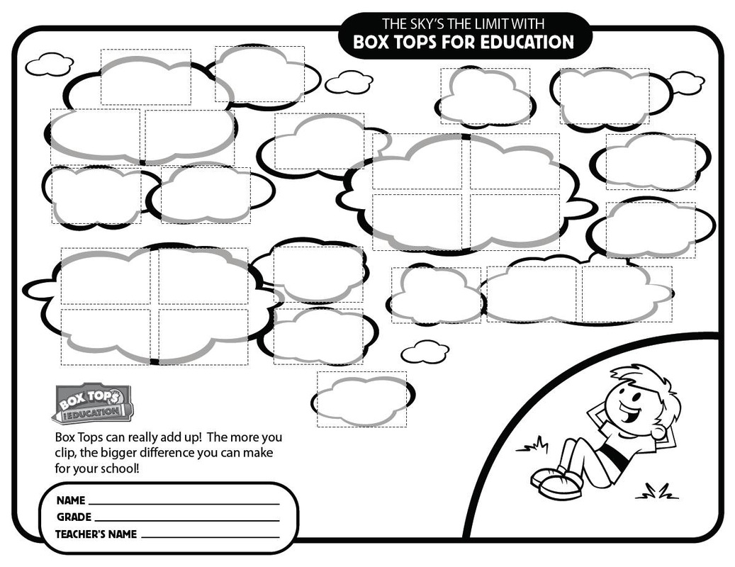 graphic regarding Box Top Printable Sheet known as Box Tops for Schooling - Timber Ridge Fundamental College PTA